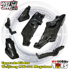 Transformers Accessories- Upgrade Kit for WeiJiang MW-001 Rendsora TLK Megatron