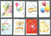 Australia-Celebrations-Greetings 2019 self adhesive fine used cto set