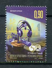 Bosnia & Herzegovina 2017 MNH Radio Station Banjaluka 50 Years 1v Set Stamps
