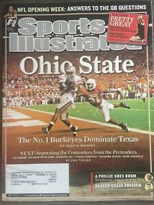 Texas Longhorns vs Ohio State Buckeyes NCAA Football 2006 Sports Illustrated