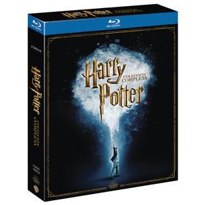 Harry Potter COLECCION COMPLETA 8 Blu-Ray NUEVO PRECINTADO EDICION ESPAÑOLA