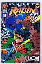Robin #7 Rare DC Universe UPC Variant VF+ Complete 1994 DC Comics PWC