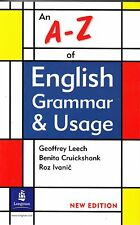 Longman A-Z OF ENGLISH GRAMMAR & USAGE Latest Edition GEOFFREY LEECH @NEW BOOK@