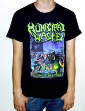 "Municipal Waste ""The Art Of Partying"" Black Tshirt"