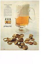 PUBLICITE  1968   PRISUNIC  bière PILS