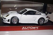 Porsche 911 (997) GT3 RSR 2010 Plain Body Vers.weiß 1:18 Autoart neu & OVP 81073
