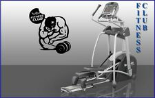 Wall Stickers Vinyl Decal Fitness Club Gym Dumbbell Mr. Olympia Sport (ig1073)