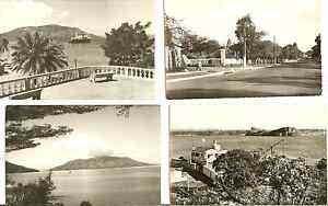 9 MADAGASCAR POSTCARDS 1962 REAL PHOTO NOSSI-BE, TULEAR, MAJUNGA, DIEGO SUAREZ