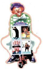 Grenadines 2003  - Circus Clown - Sheet of Four  - MNH
