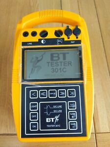 BT 301C TESTER TIME DOMAIN REFLECTOMETER.