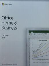 Office Home and Business 2019 | Box | Vollversion | Dauerlizenz | 1 PC/Mac | DE