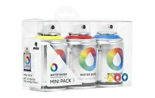 Sprühdosen MTN Graffiti Set Water Based Spraypaint Mini Pack 3x100ml verschieden