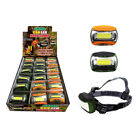 Max Force 08-1700 Camouflage 200 lm AAA COB LED Head Lamp (Pack of 18)