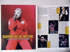 COUPURE DE PRESSE-CLIPPING :  GRASPOP METAL MEETING 2011 [7pages] Live Report