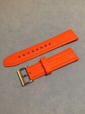 Cinturino Originale Gomma Nautica A18627G Arancione con Fibbia