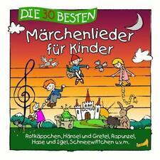 Die 30 Besten Märchenlieder Für Kinder  CD NEU & EINGESCHWEIßT