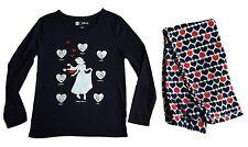 GAP Girls DISNEY SNOW WHITE Pyjamas NAVY Sleepwear Top Pyjamas Set 8-9y £34.95