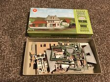 Vintage AURORA Postage Stamp Bridge Model Kit Number 4112