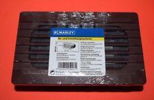 MARLEY 059471 Lüftungsgitter 180 x110 mm mit Rückstauklappe (297)