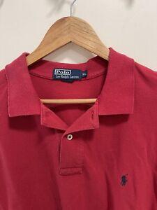 Men's Ralph Lauren POLO Red Shirt Size X Large XL