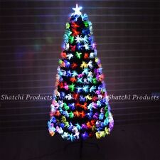 3ft 90cm Fibre Optic Christmas Tree Multi Colour Changing with Various Effects