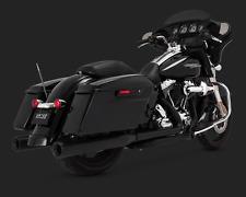 Vance and Hines ELIMINATOR negro Slipon De Escape Harley Touring 46703 1995 - 2016