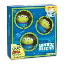 TOY STORY  SIGNATURE  COLLECTION SPACE ALIENS 3pk CERT OF AUTHENTICITY THINKWAY