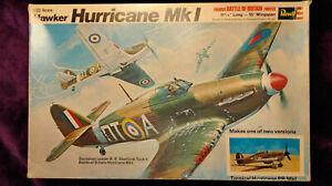Revell1:32HawkerHURRICANEMk.I Fighter Model Kit #H-217 *SEALED IN BAG*