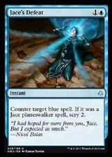 Jace's Defeat NM X4 -Hour of Devastation-Blue Uncommon