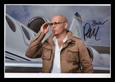 PITBULL AUTOGRAPHED SIGNED & FRAMED PP POSTER PHOTO