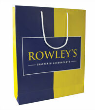 More details for personalised luxury paper carrier bags | custom paper bags | made in britain