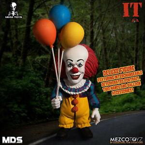 "MEZCO IT 1990 PENNYWISE 6"" MDS MEZCO DESIGNER SERIES FIGURE"