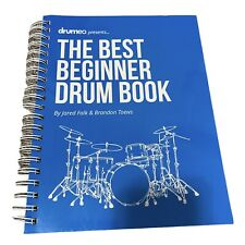 Drumeo The Best Beginner Drum Book Special Edition Hardcover BRAND