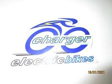 Vintage Charger Electric Bikes Bicycle Sticker