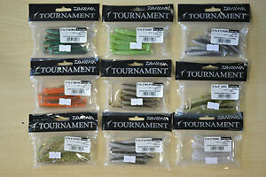 """DAIWA TOURNAMENT D'FIN SOFT LURES - 3"""" OR 4"""" CHOICE OF COLOURS"""