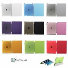 Funda carcasa Smart Cover para Apple iPad 2017 / 2 3 4 / Mini  / Pro  / Air 1 2