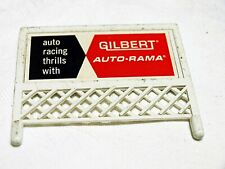 AMERICAN FLYER 1960'S VINTAGE GILBERT BILLBOARD FROM THE ALL ABOARD TRAIN SET