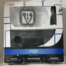 Sony PSP 2000/3000 Rocketfish Gaming Starter Kit Case Protector Charger Earbud