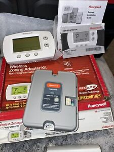 Honeywell Thermostat Yth5320r1025 Wireless Zoning Adapter Kit Non Programmable