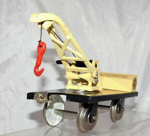 Rich Art Standard Gauge Ohio 1990 TTOS Convention Derrick Crane flat cast iron