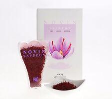Novin Saffron 5 Grams in Gift Box : Great for Paella : Slimline Package