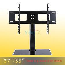 "26-32"" 37~55'' LCD LED Plasma VESA Mount Bracket Desktop Monitor Home TV Stand"