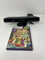 Genuine Microsoft XBOX 360 Kinect Sensor Bar Model 1414 Black W/ Game Working