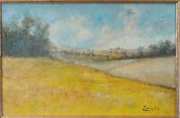 tableau huile /toile  - paysage - signée Laborde
