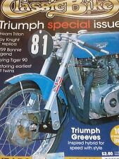 Classic Bike 03/00 1959 Triumph Bonnie Legend,Buyer's Guide Triumph Tiger 90 etc