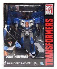 HASBRO Transformers Generations Combiner Wars IDW Líder clase L THUNDERCRACKER