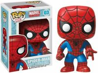 Funko POP! Marvel 4 Inch Vinyl Bobble Head Figure - Spider Man with protector
