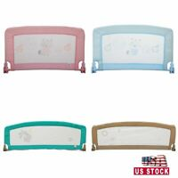 35''/60''x20'' Safety Bed Rail Toddler Kids Swing Down Guard Child Safety 4Color