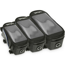 Bike Bicyle Front Top Tube Pannier Bike Frame Storage Bag for Mobile Phone, iPod