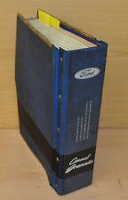 Werkstatthandbuch Ford Consul Granada Ersatzteilkatalog  Stand 1972  Ordner
